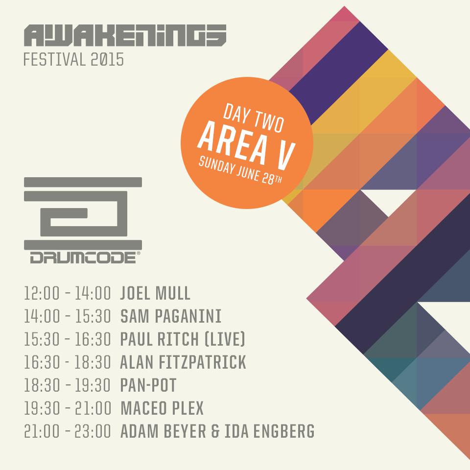 Awakenings Festival 2015 Hennesy Cc