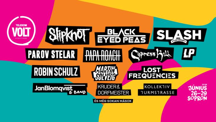 TELEKOM VOLT FESTIVAL'S 2019 INTERNATIONAL PROGRAM IS